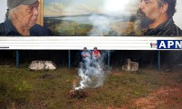 Smoking ceremony Appropriated Circumstances 2012, Waterfall NSW