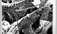 Untitled charcoal drawing UTDD03 1979 (1500 x 2250 mm)