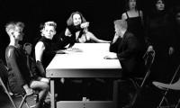 Stolen Time 1986, performance, Table scene