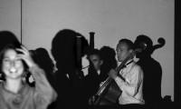 Telling 1986, Performance Space Sydney (performer Brigit Kitchen, Nicholas Wishart and composer Ion Pierce )