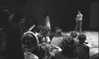 Telling 1986, Performance Space, Sydney, Yuji Sone opening scene (distraction)